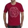 FUNNY Male Brain Ideal Birthday Gift or Present Mens T-Shirt
