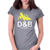 Funny Mens T-Shirt Dolce & banana Womens Fitted T-Shirt