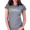 Funny National Geographic Pornographic Rhino Porn Dirty Womens Fitted T-Shirt