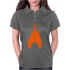Funny Pet Cat Showing Bum Womens Polo