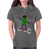 Funny Pickle on Hoverboard Original Artwork Womens Polo