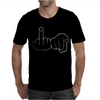 Funny Rude Fingers Ideal Birthday Gift or Present Mens T-Shirt