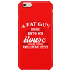 Funny Santa Claus Christmas Eve Saying Phone Case