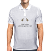 funny satire humour Want to know what looks good on a man Mens Polo