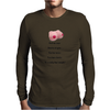 FUNNY SATIRE HUMOUROUS FOOL ME ONCE SHAME ON YOU FOOL ME TWICE YOU HAVE BOOBS IT'S REALLY THAT SIMPL Mens Long Sleeve T-Shirt