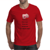 FUNNY SATIRE HUMOUROUS FOOL ME ONCE SHAME ON YOU FOOL ME TWICE YOU HAVE BOOBS IT'S REALLY THAT SIMPL Mens T-Shirt
