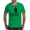 FUNNY SATIRE HUMOUROUS I KNOW FOR A FACT THAT I'M HILARIOUS BECAUSE THE POLICE REPORT SAID I WAS Mens T-Shirt