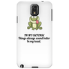 FUNNY SATIRE HUMOUROUS IN MY DEFENCE. THINGS ALWAYS SOUND BETTER IN MY HEAD. Phone Case