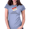 FUNNY SATIRE HUMOUROUS ON THE JOURNEY OF LIFE THERE ARE MANY PATHS TO SELECT THE ONE I LIKED BEST WA Womens Fitted T-Shirt