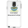 FUNNY SATIRE LAUGH HUMOUROUS CEREAL IS LATIN FOR SHUT UP IT'S ALL I GOT Phone Case
