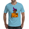 Funny Sea Otter Reading a Book called Hairy Otter Mens T-Shirt