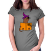 Funny Sea Otter Reading a Book called Hairy Otter Womens Fitted T-Shirt