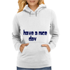 Funny Slogan I'm Busy You're Ugly Womens Hoodie