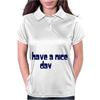 Funny Slogan I'm Busy You're Ugly Womens Polo