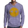 Funny Smiley Face Mens Hoodie