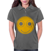Funny Smiley Face Womens Polo