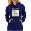 Funny Stag Night Checklist, Ideal Gift, Christmas Present Womens Hoodie