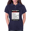 Funny Stag Night Checklist, Ideal Gift, Christmas Present Womens Polo