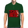 funny Techno Viking 3, Ideal Birthday Present or Gift Mens Polo