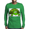 Funny Turtle Mens Long Sleeve T-Shirt