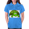 Funny Turtle Womens Polo