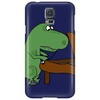 Funny Tyrannosaurus Rex is Playing the Piano Phone Case