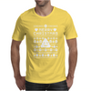 Funny Ugly Christmas Smiley Emoticon Mens T-Shirt