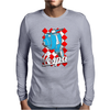 Funny vespa Chequer Board, Ideal Gift Or Birthday Present Mens Long Sleeve T-Shirt