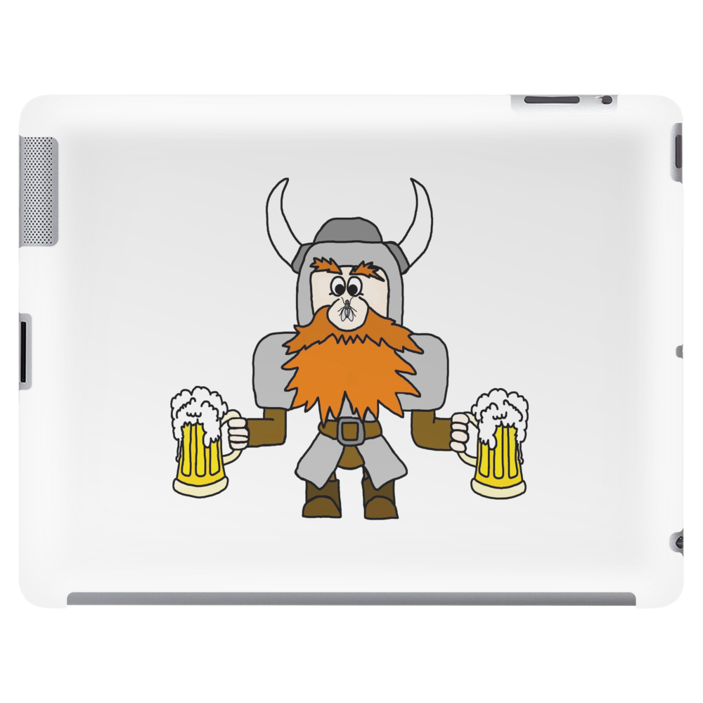 Funny Viking Tablet