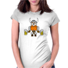 Funny Viking Womens Fitted T-Shirt