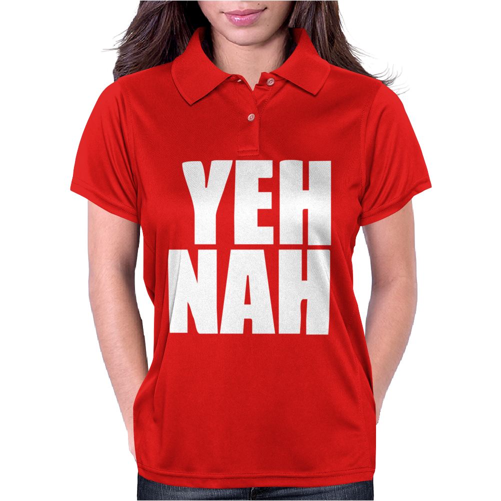 Funny Yeh, Nah Womens Polo