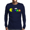 Funny Zombie Mens Long Sleeve T-Shirt
