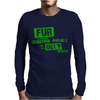 Fur is worn by... Mens Long Sleeve T-Shirt