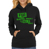 Fur is worn by... Womens Hoodie