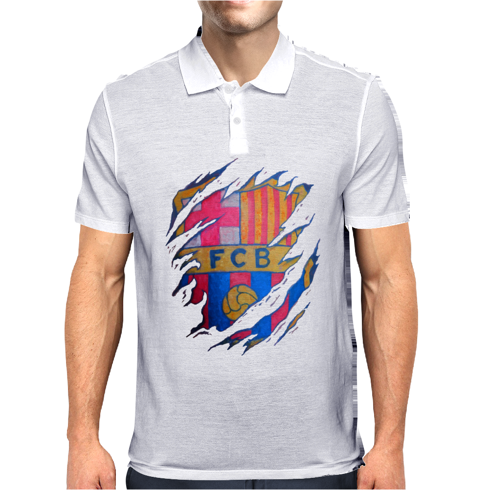 futbol bar Mens Polo