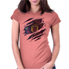 futbol man Womens Fitted T-Shirt