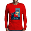 Futurama Hypnotoad H Mens Long Sleeve T-Shirt