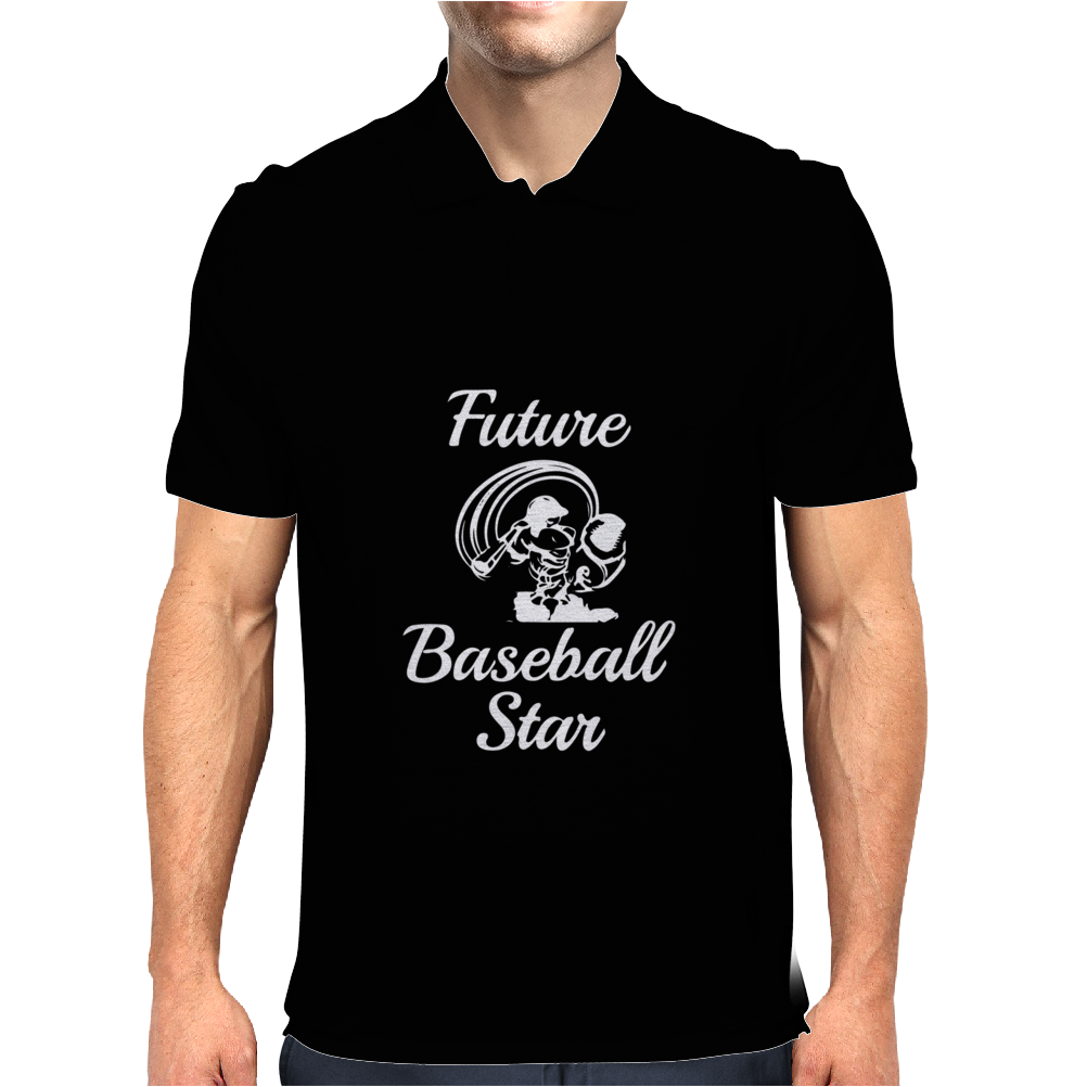 Future Baseball Star Mens Polo