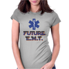 Future E.M.T. Womens Fitted T-Shirt