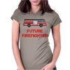 Future Firefighter Womens Fitted T-Shirt