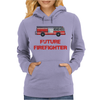 Future Firefighter Womens Hoodie