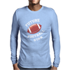 Future Football Star Mens Long Sleeve T-Shirt