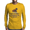 Future Garbage Man Mens Long Sleeve T-Shirt