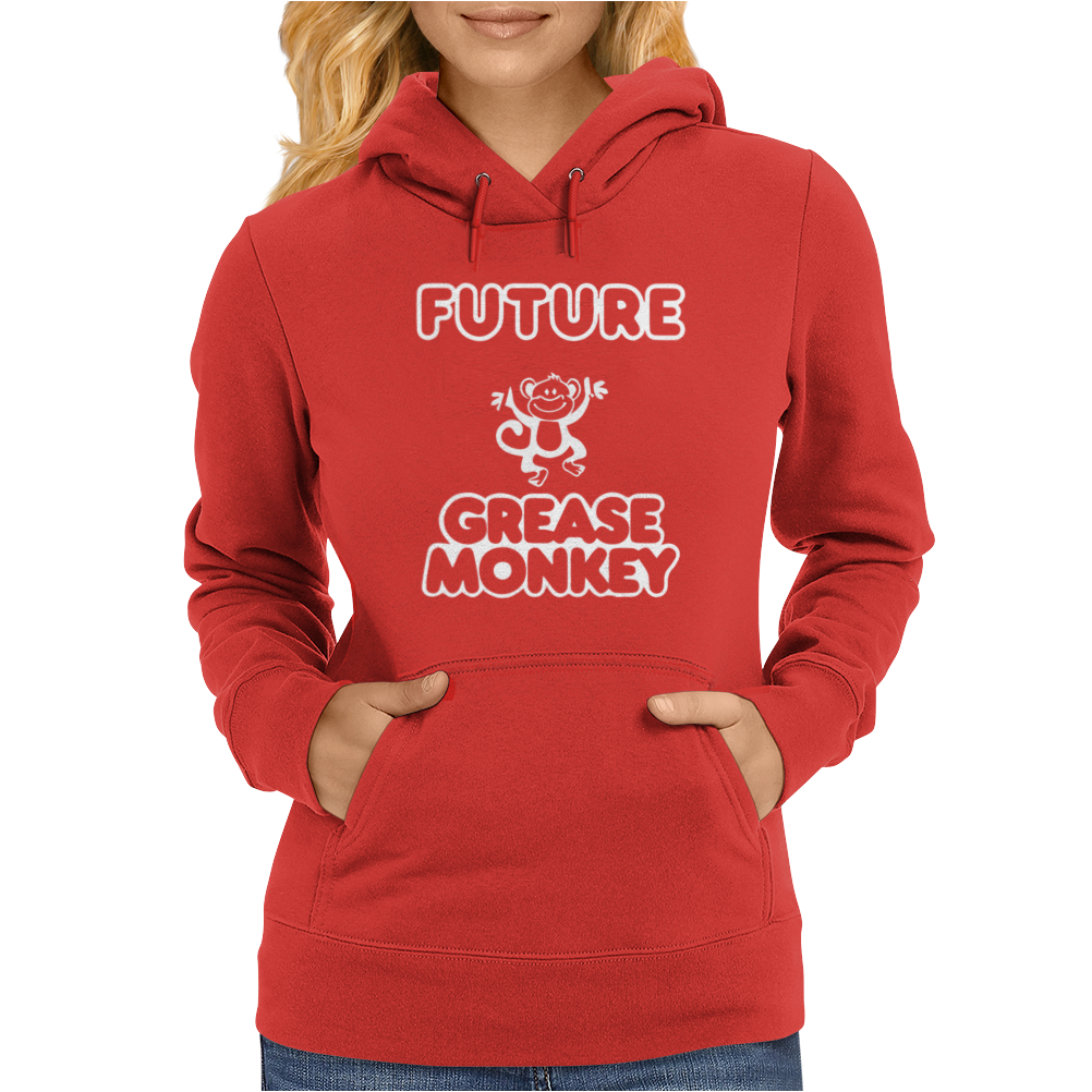 FUTURE GREASE MONKEY Womens Hoodie