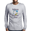 Future Soccer Star Mens Long Sleeve T-Shirt