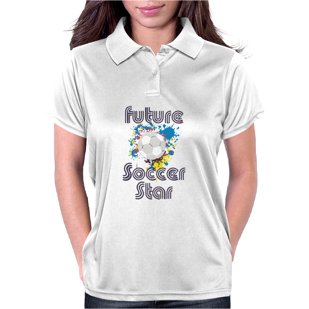Future Soccer Star Womens Polo