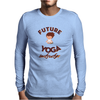 Future Yoga Instructor Mens Long Sleeve T-Shirt