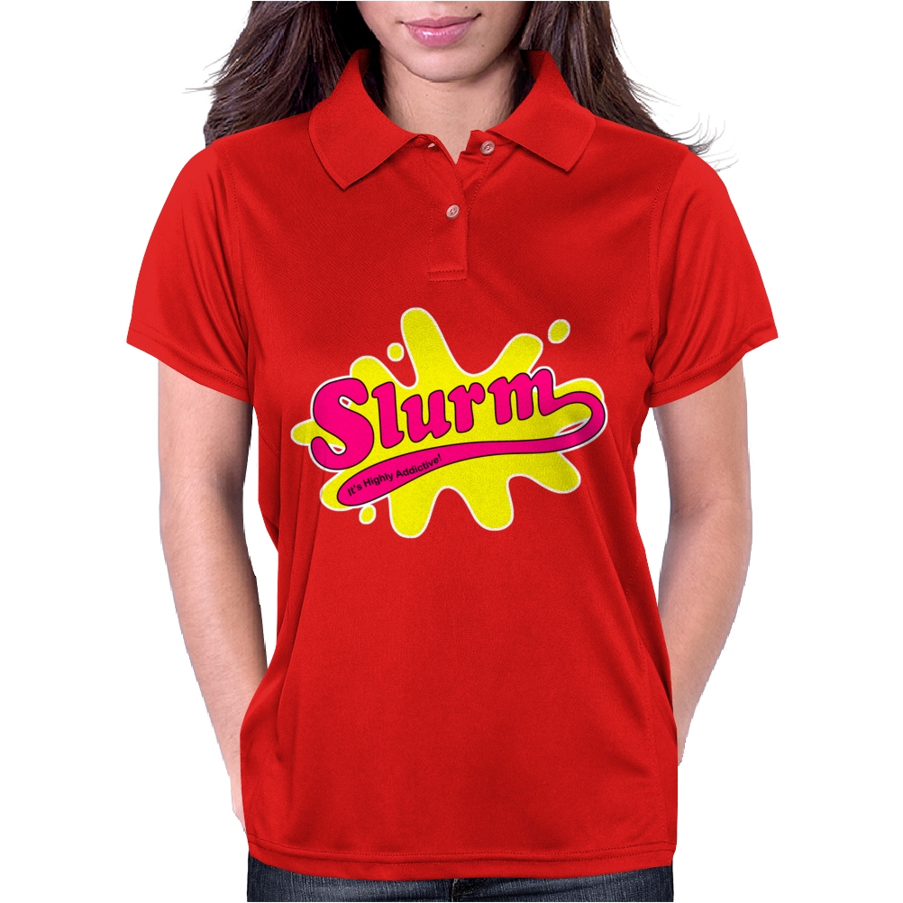 Futurerama Slurm Drink Womens Polo