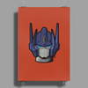 G1 Optimus Prime Head Poster Print (Portrait)