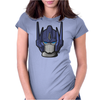 G1 Optimus Prime Head Womens Fitted T-Shirt